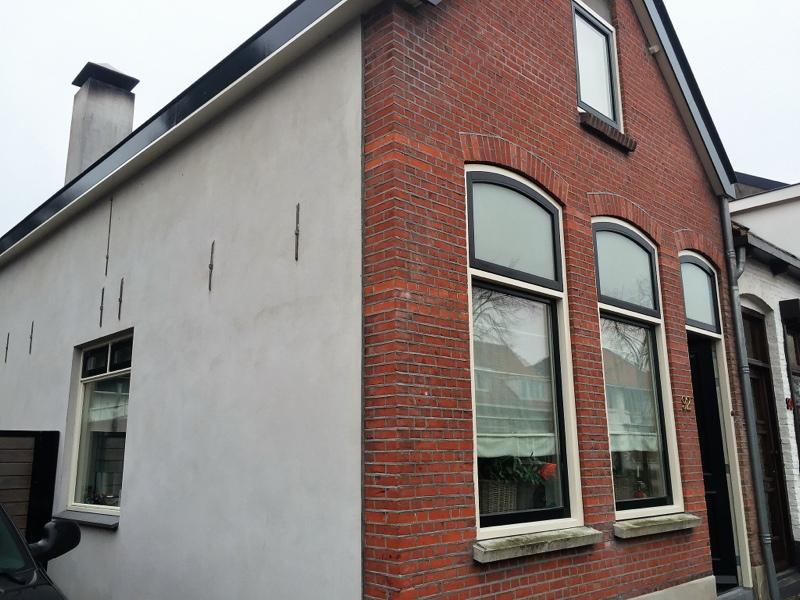 Rij en hoekwoningen nieuwbouw weteringshoek rossum van wanrooij
